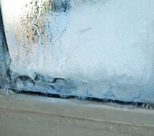 Основні причини промерзання