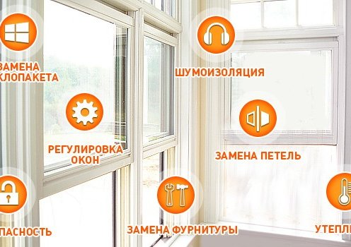 Ремонт пластикових вікон і
