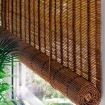 Бамбукові рулонні штори
