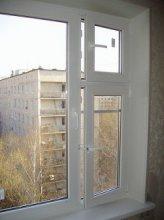 пластикове вікно Rehau з кватиркою