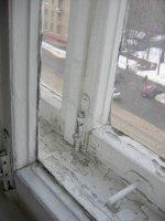 Стара дерев'яна вікно