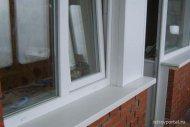 Зовнішня обробка пластикових вікон